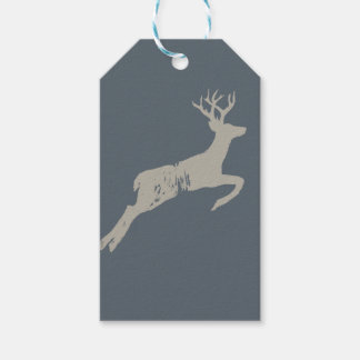 The Running Stag Gift Tags