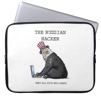 The Russian Eagle Bear Hacker Laptop Sleeve