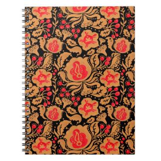 The Russian Khokhloma Pattern Note Book