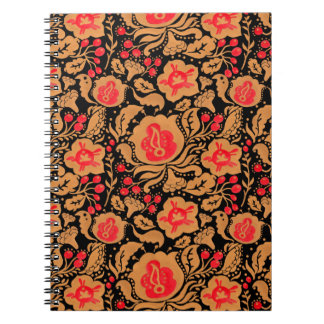 The Russian Khokhloma Pattern Notebook