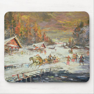 The Russian Winter, 1900-10 Mouse Pad