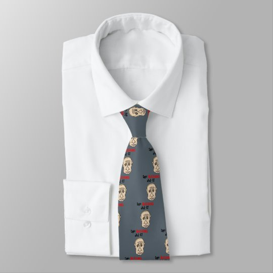 The Russians did it Putin Cartoon Tie