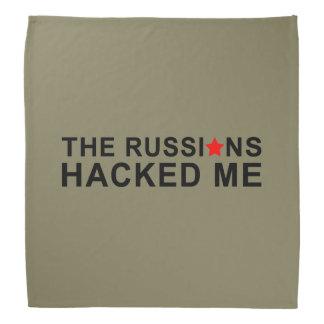 the russians hacked me bandana