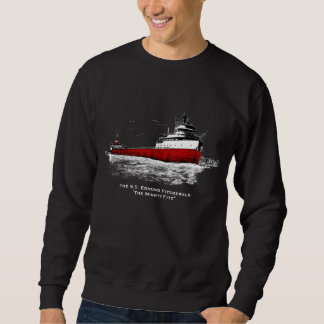 "The S.S. Edmund Fitzgerald ~ ""The Mighty FITZ"" Sweatshirt"