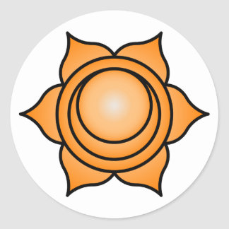 The Sacral Chakra Stickers
