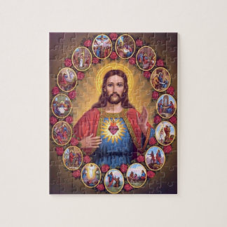 The Sacred Heart Of Jesus Jigsaw Puzzle