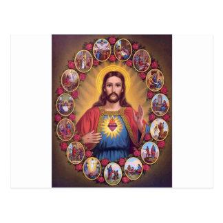 The Sacred Heart Of Jesus Postcard