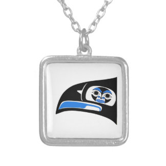 THE SACRED VISION SILVER PLATED NECKLACE