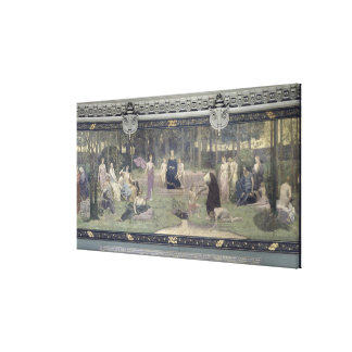 The Sacred Wood Canvas Print