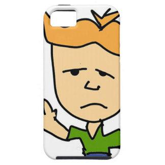 The sad boy tough iPhone 5 case