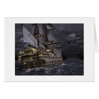 The Sailing Fortress Card
