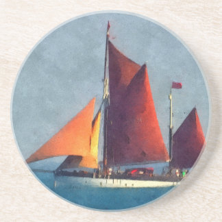 The Sailing Ship Beverage Coasters