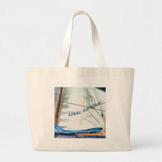 The Sails Of Unal Kaptan Large Tote Bag