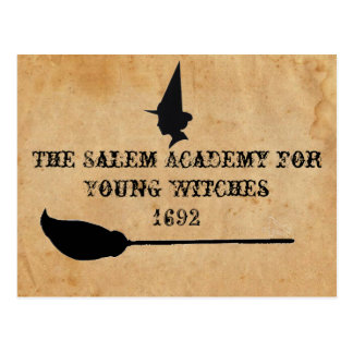 The Salem Academy for Young Witches Postcard