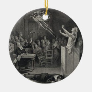 The Salem Witch Trials The Witch Number 1 Ceramic Ornament