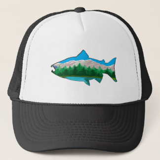 THE SALMON RUN TRUCKER HAT