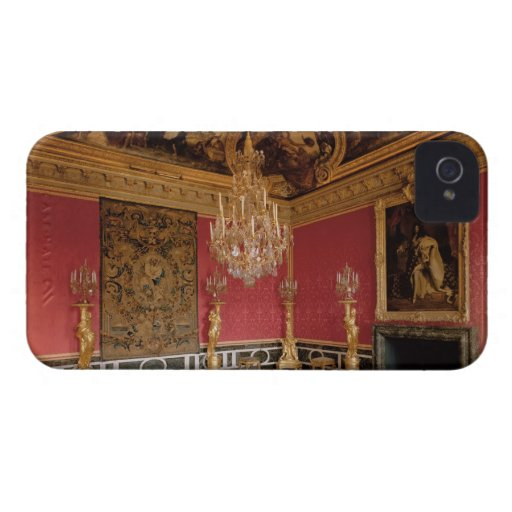 The Salon d'Apollon (Apollo Room) with tapestries iPhone 4 Covers