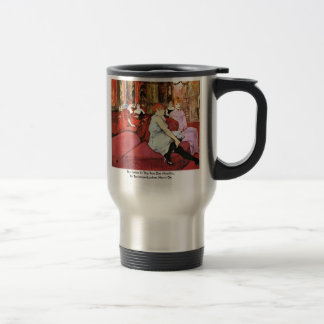 The Salon In The Rue Des Moulins Stainless Steel Travel Mug