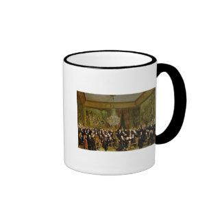 The Salon of Alfred Emilien, Comte de Ringer Coffee Mug