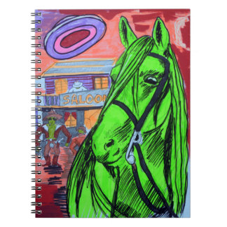 The Saloon Spiral Notebook