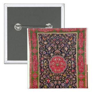 The Salting Carpet, c.1588-98 15 Cm Square Badge