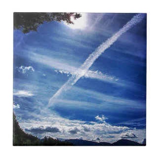 The Saltire in the Sky Tile