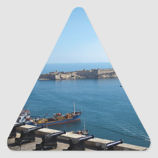The Saluting Battery Triangle Sticker