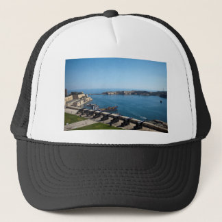 The Saluting Battery Trucker Hat
