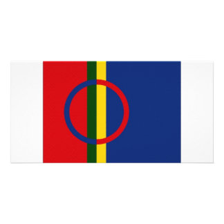 The Sami Flag Picture Card
