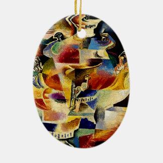 The Samovar - Vladimir Baranoff-Rossine Ceramic Ornament