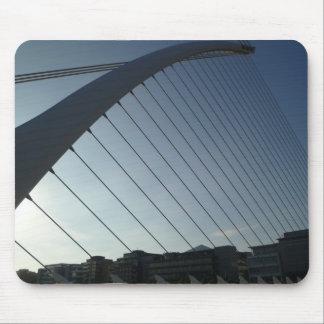 The Samuel Beckett Bridge Mouse Pad