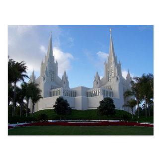 The San Diego California LDS Temple Postcard