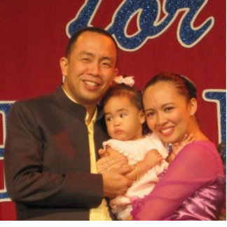 The San Family (Philippines) Photo Cut Outs
