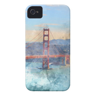 The San Francisco Golden Gate Bridge in California iPhone 4 Covers