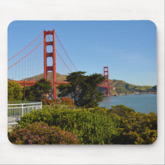 The San Francisco Golden Gate Bridge in California Mouse Pad