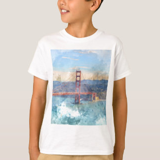 The San Francisco Golden Gate Bridge in California T-Shirt