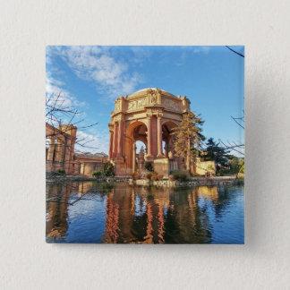 The San Fransisco Palace 15 Cm Square Badge