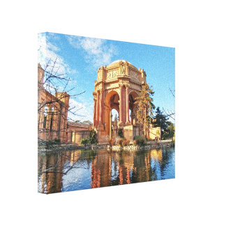 The San Fransisco Palace Canvas Print