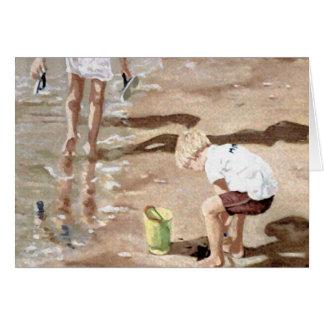 The Sand Carpenter Greeting Card