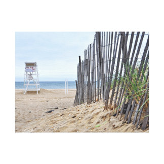 The Sand Dune Beaches of Montauk, NY Gallery Wrapped Canvas