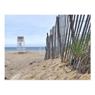 The Sand Dune Beaches of Montauk, NY Postcard