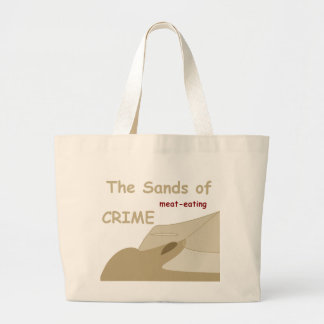The Sands of Crime Tote Jumbo Tote Bag