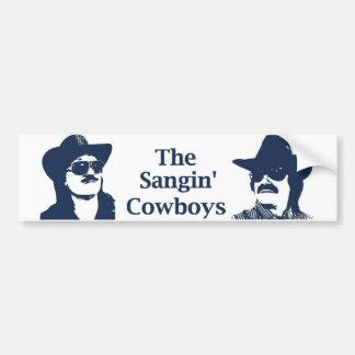 The Sangin' Cowboys Bumper Sticker