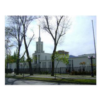 The Santiago Chile LDS Temple Postcard