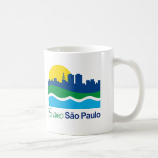 The Sao Paulo magnet Basic White Mug