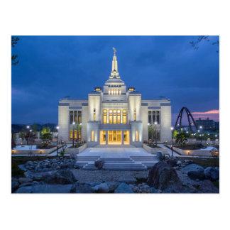 The Sapporo Japan LDS Temple Postcard