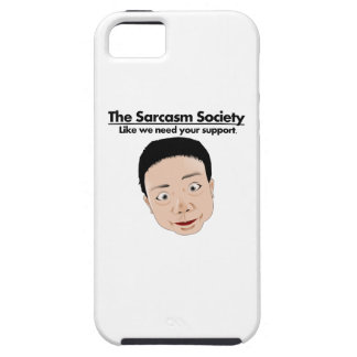 The Sarcasm Society iPhone 5 Cover