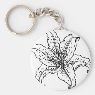 The Saskatchewan Lily project Key Ring