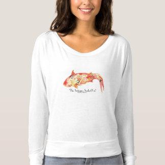 The Satsuma Sorbet Koi Fish in Watercolor T-Shirt