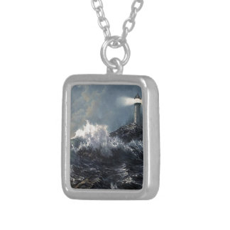 The Savior Silver Plated Necklace